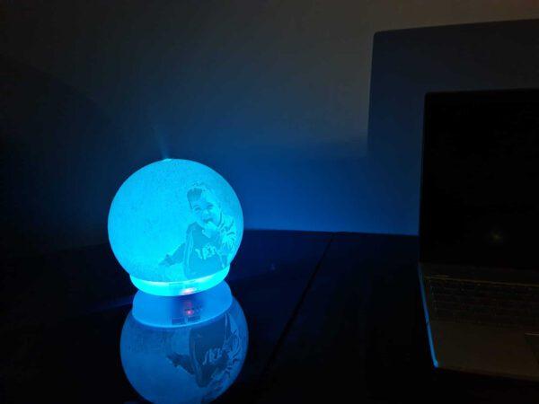 lampara 3d luna ambientador 1