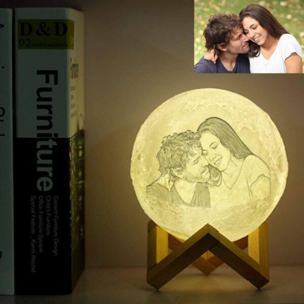 Regalos para abuelas primerizas, lampara de mesa luna-03