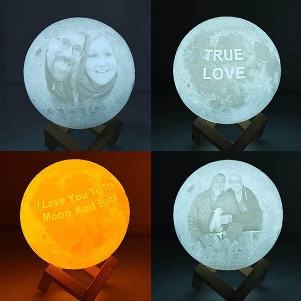 Regalos de navidad para mujer,mujeres, lampara personalizada 3d 01